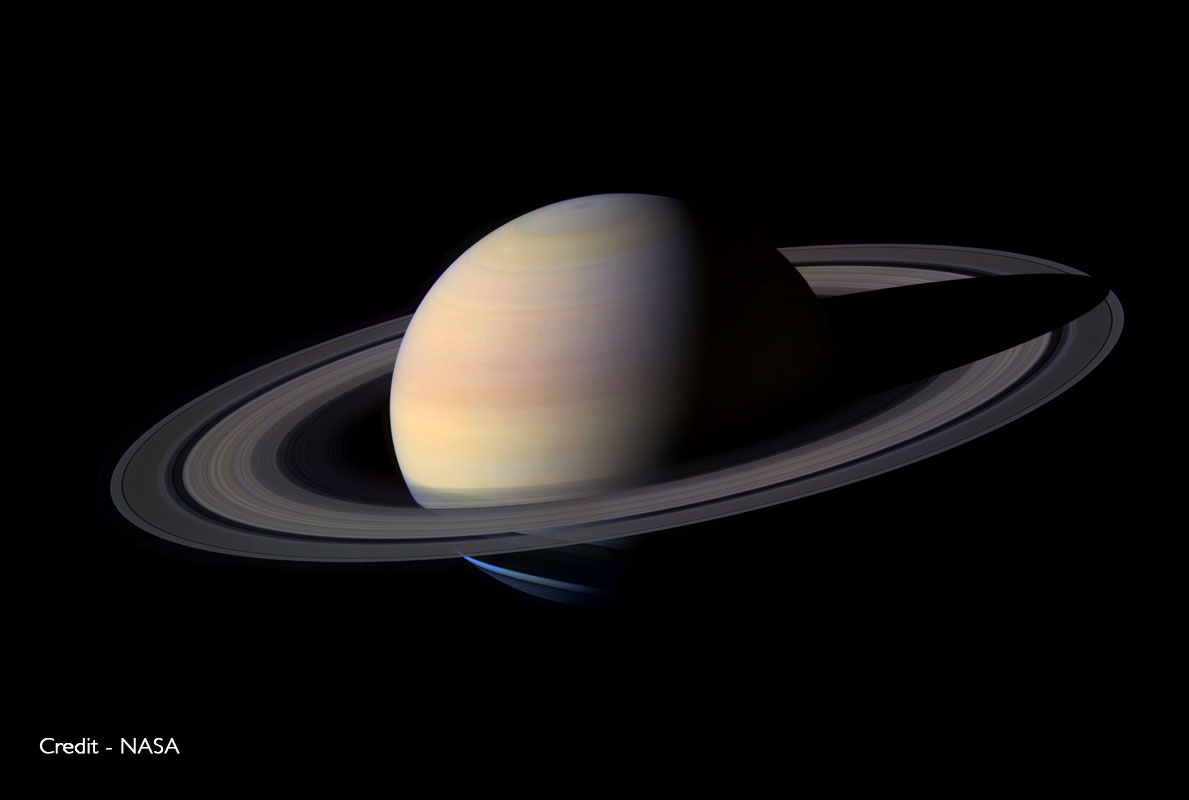 Saturn - credit - NASA